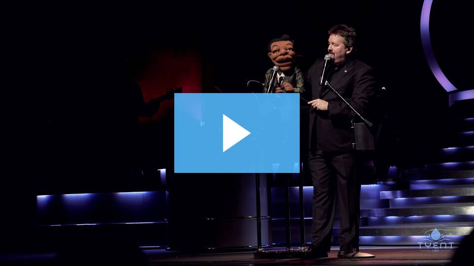 Even Celebrities like Terry Fator are ADVANCING their careers with Tyent Water. Find out HOW!