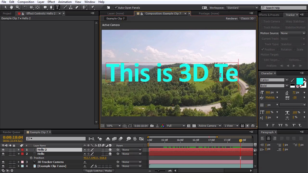 How to add basic 3d camera tracking to drone footage with adobe how to add basic 3d camera tracking to drone footage with adobe after effects baditri Choice Image