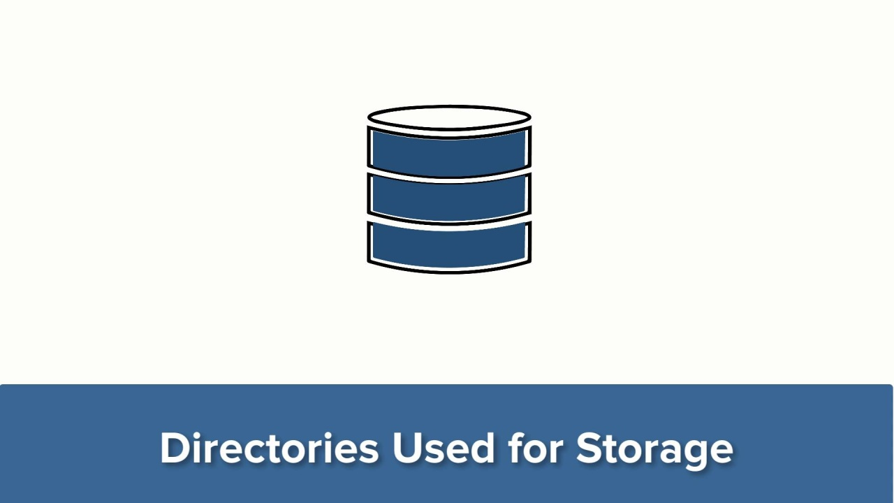 Directories Used for Storage