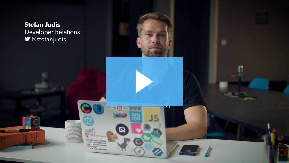 Images API video preview linking to the Bits & Bytes main page