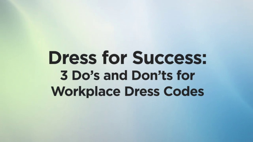 Wistia video thumbnail - Dress for Success - public