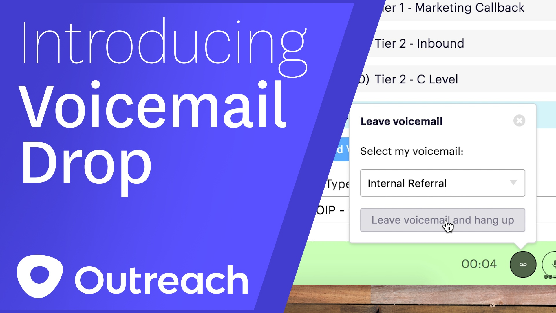 Voicemail Drop Now Offered By Outreach Outreach