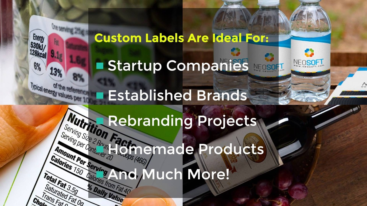 Looking for a professional way to showcase your specialty products just got easier with our line of custom labels custom label printing is perfect for