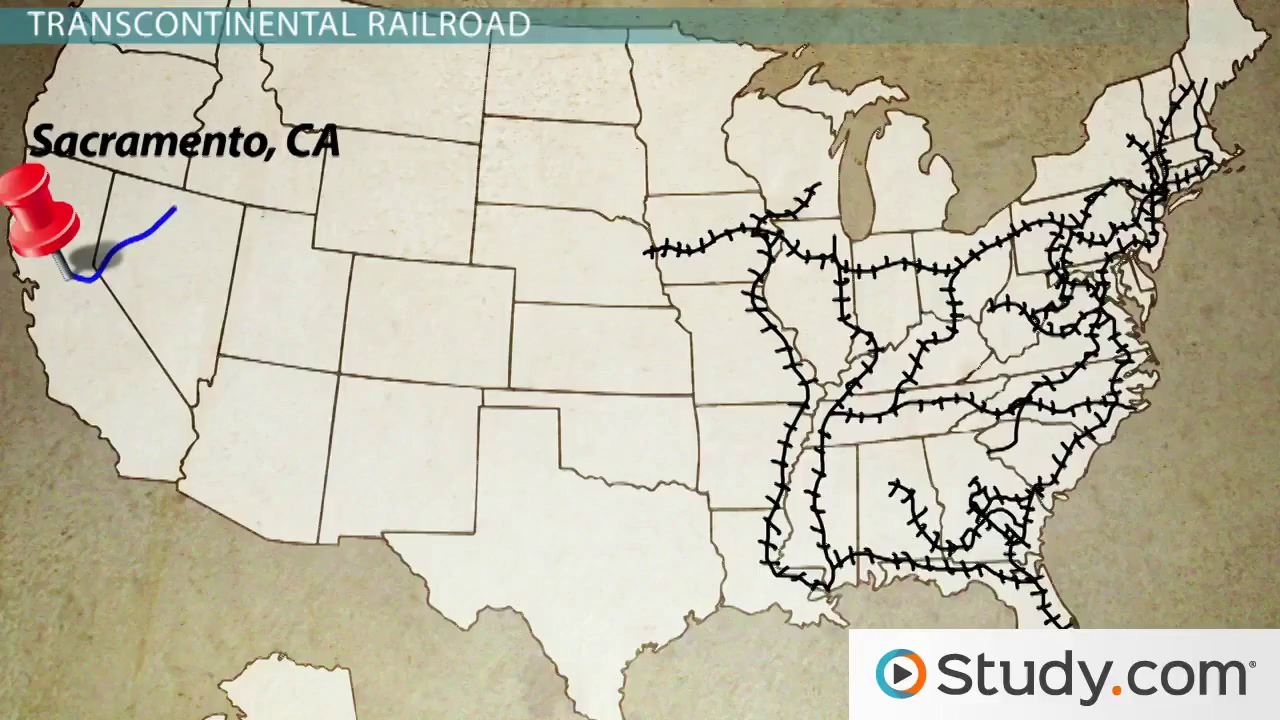 Transcontinental Railroad Homestead Act And Womens Suffrage - Us transcontinental railroad map