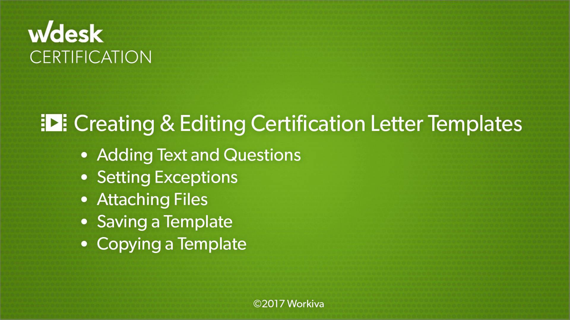 Creating And Editing Certification Letter Templates Wdesk Help