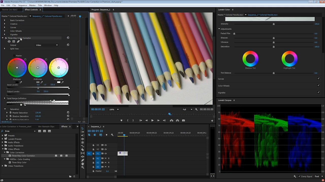 How to adjust video saturation with adobe premiere baditri Choice Image