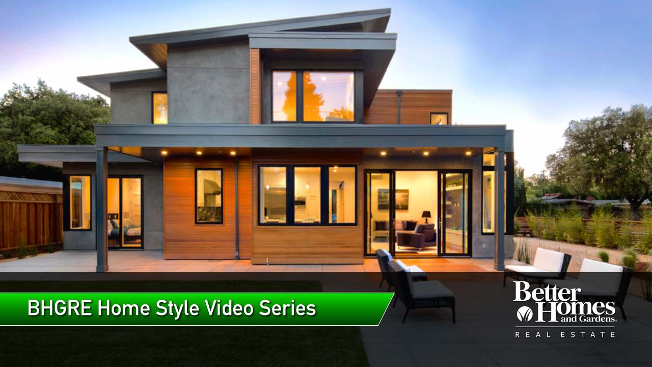 New Contemporary Style Homes