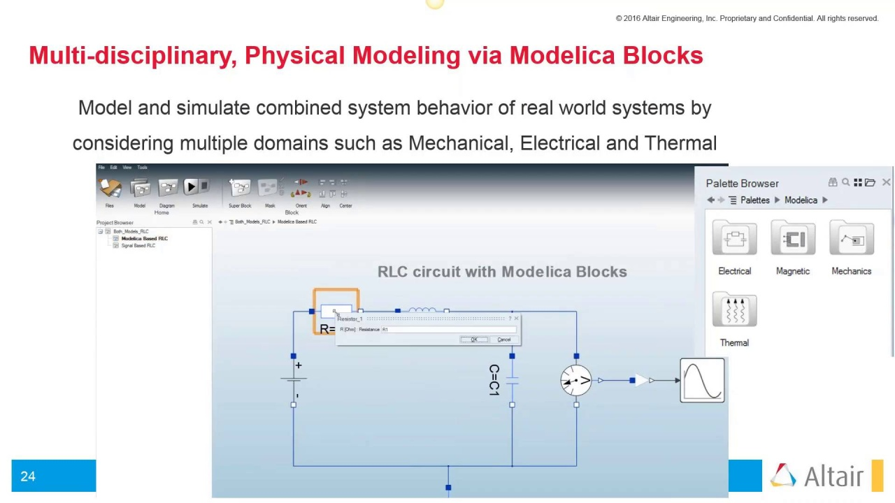 Altair Activate Multi Disciplinary System Simulation Software 4 1 Haul Diagram Wiring Schematic Physical Modeling Via Modelica