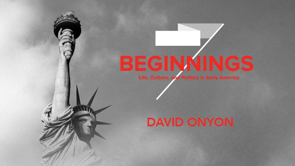 David Onyon speaks on the fundamental right of freedom of expression in early America