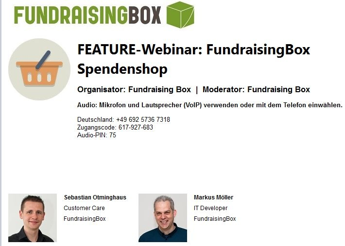 Wistia video thumbnail - FEATURE-Webinar FundraisingBox-Spendenshop (German)