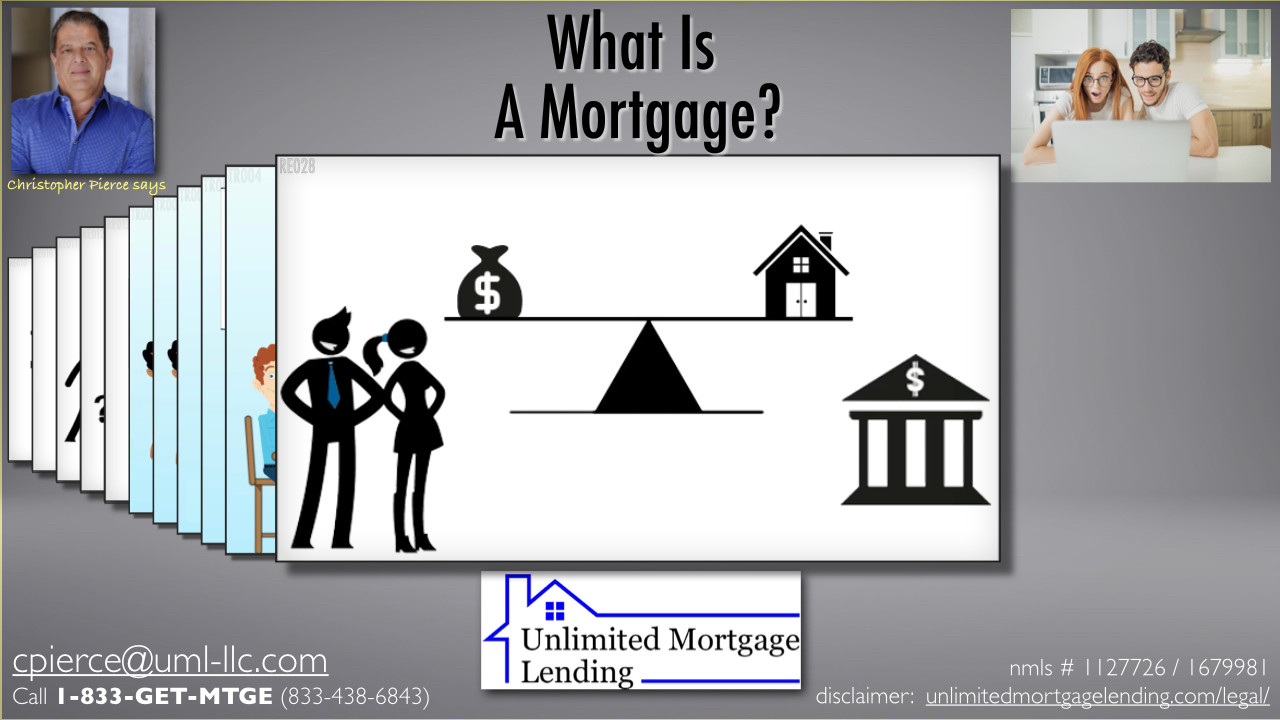 What Is A Mortgage? Unlimited Mortgage Lending