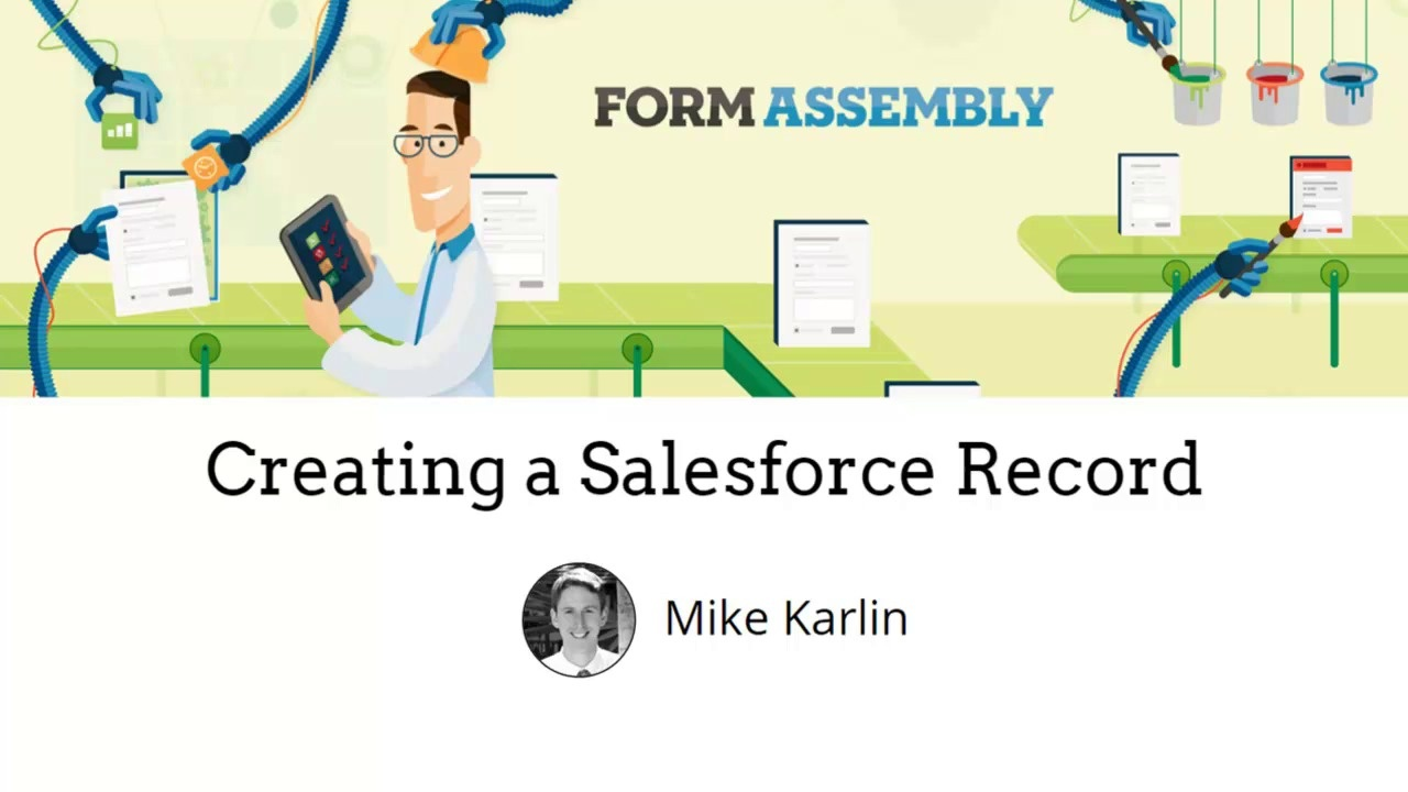 Create a Salesforce Record