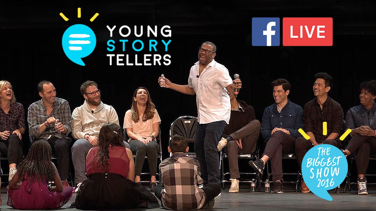 Young Storytellers - Facebook Live Video Event