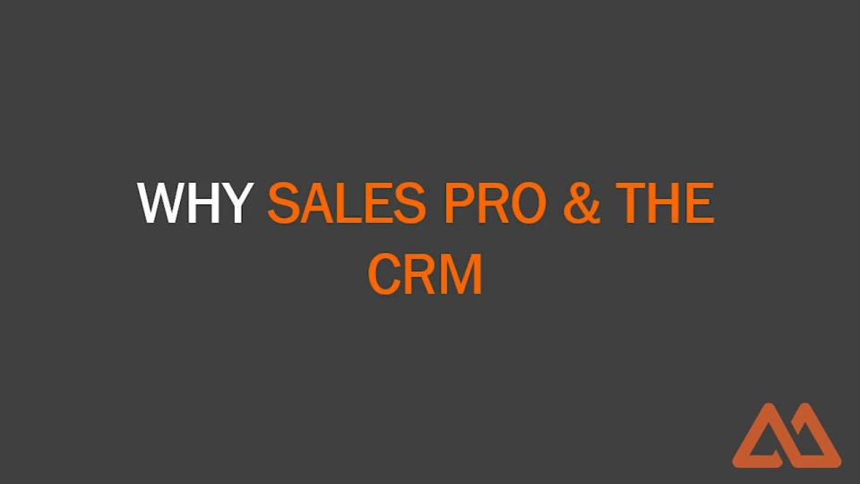 Wistia video thumbnail - Sales and CRM Vlog