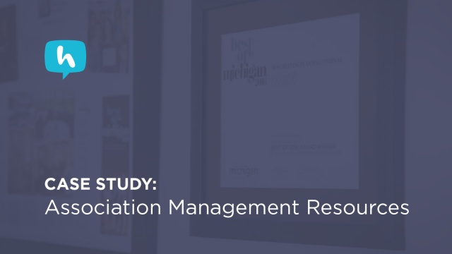 Wistia video thumbnail - Case Study: Association Management Resources