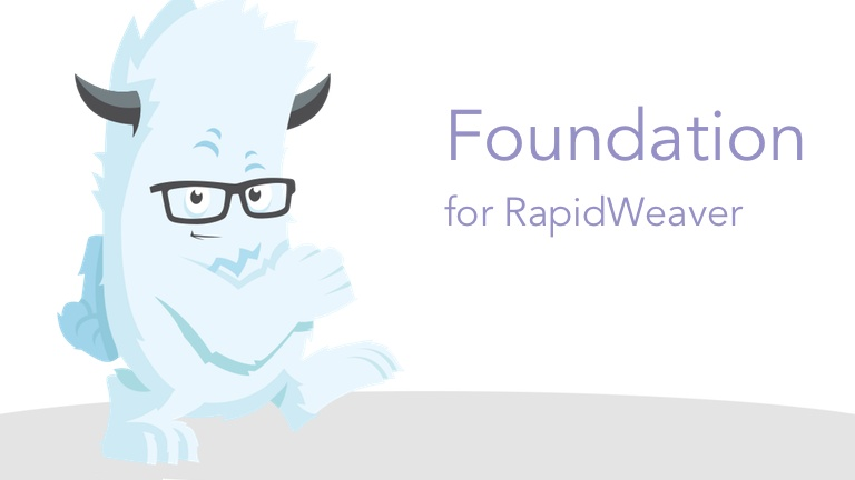 Foundation Stacks for RapidWeaver