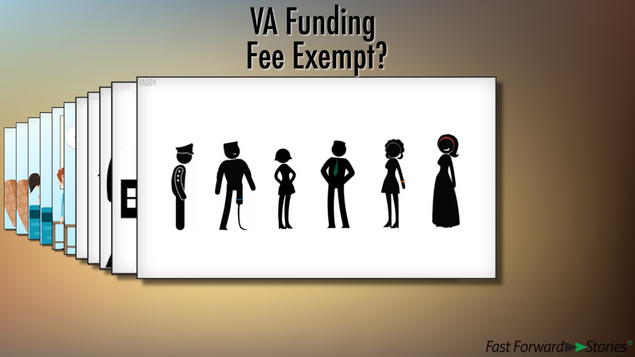 Video Va Funding Fee Exempt Fast Forward Stories