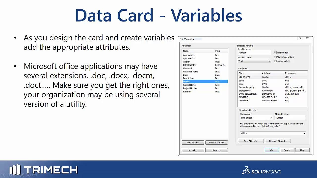 Defining and Linking Variables and Properties in Office Files Part 2