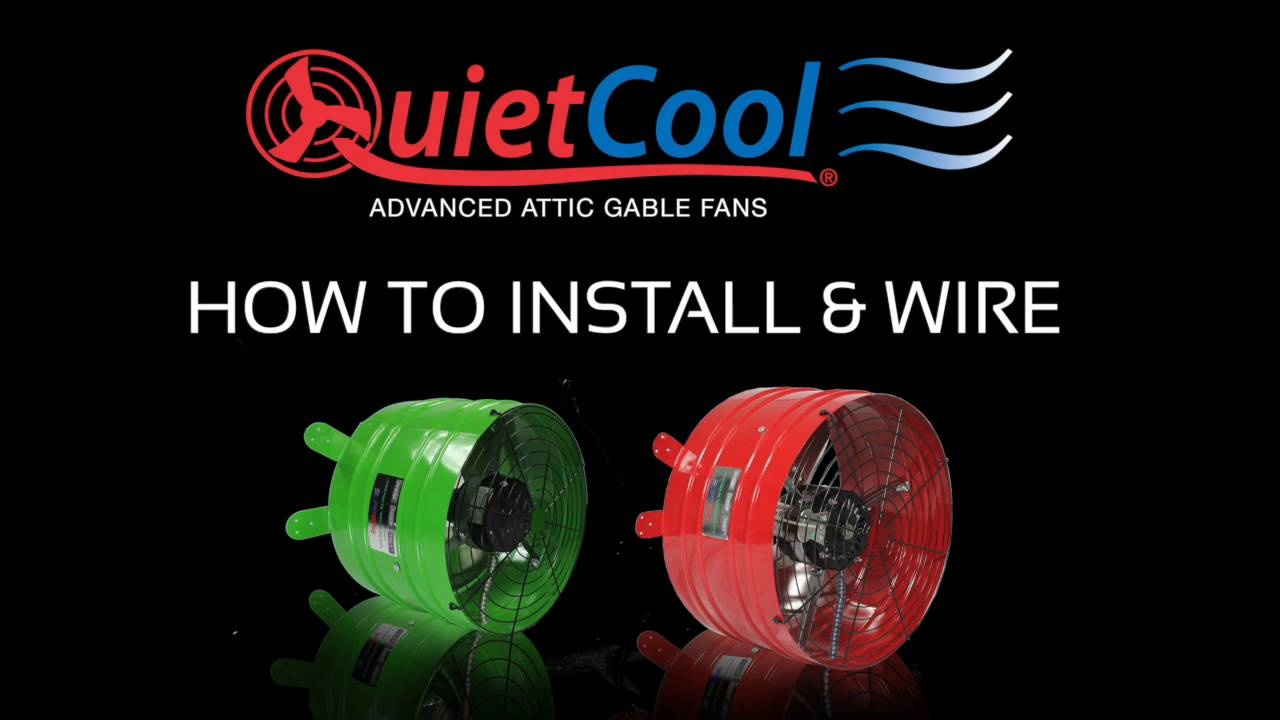 Smart Attic Fan Quietcool Whole House Fans Have A Question About An Exhaust Hooked Up To Thermostat Thumbnail Of Wistia Video