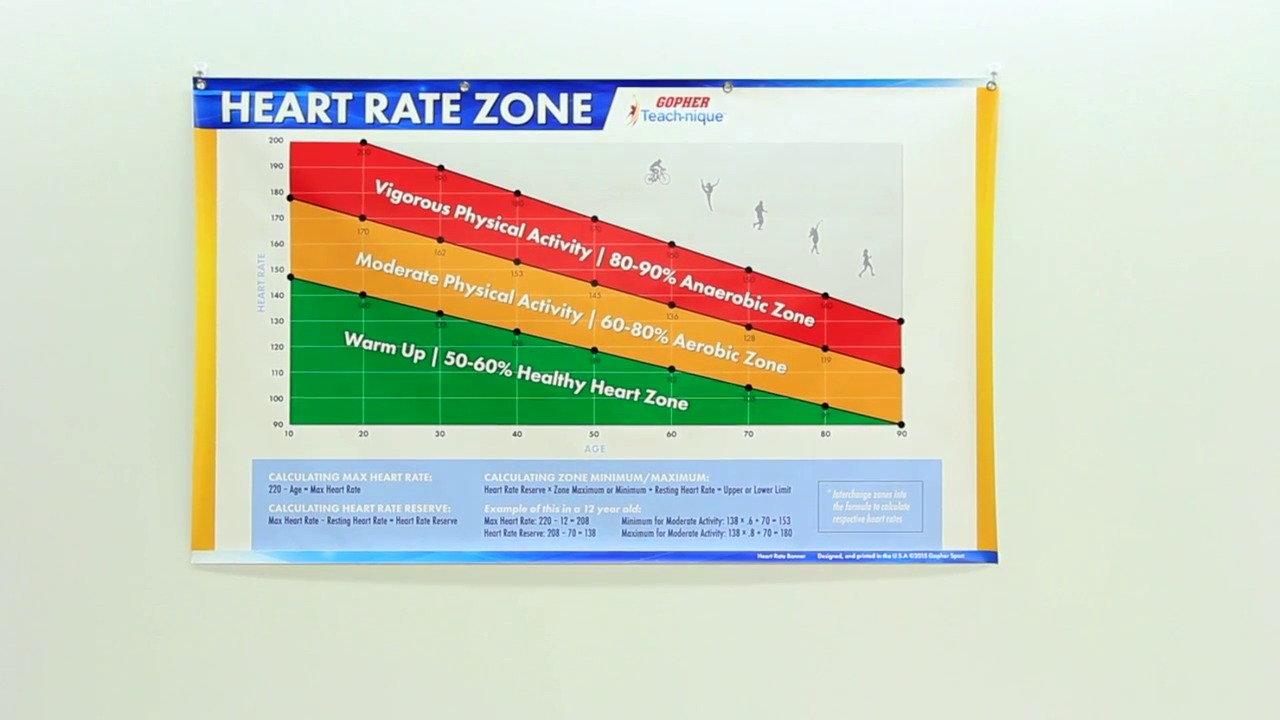 Teach nique age based heart rate zone banner gopher sport geenschuldenfo Choice Image