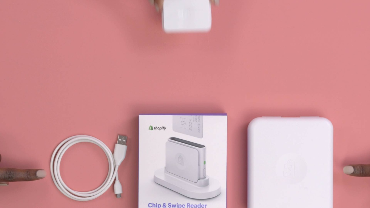 Charging The Shopify Chip And Swipe Reader