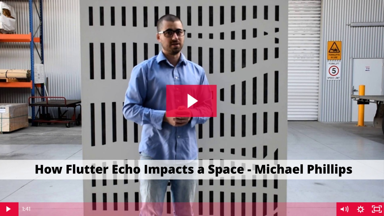 How Flutter Echo Impacts a Space