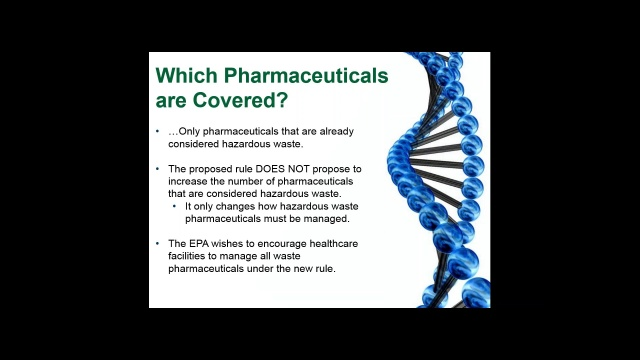 Which Pharmaceuticals was Covered? Video