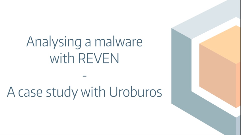 Analyzing a malware with REVEN - A case study with Uroburos
