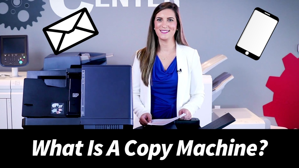 What Is A Copy Machine? - Two Important Things You Should Know!