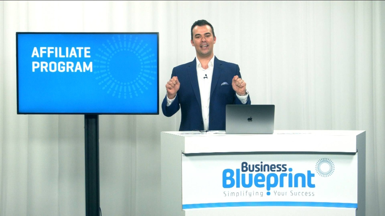 Affiliate program business blueprint video thumbnail malvernweather Image collections