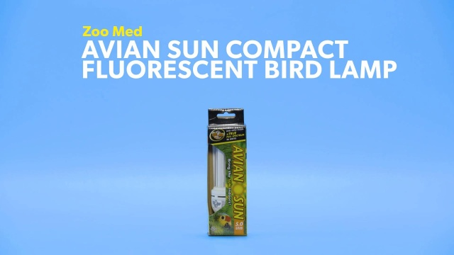 Zoo Med Avian Sun Compact Fluorescent Bird Lamp 26 Watt