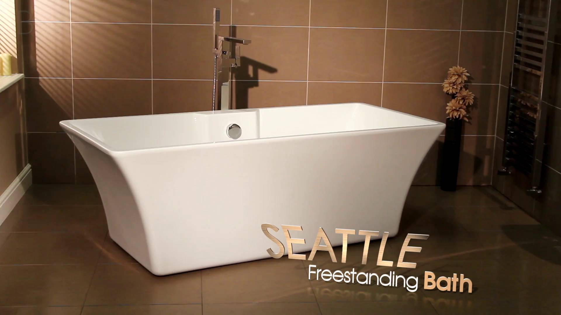 Seattle 1690 x 740 Luxury Freestanding Bath