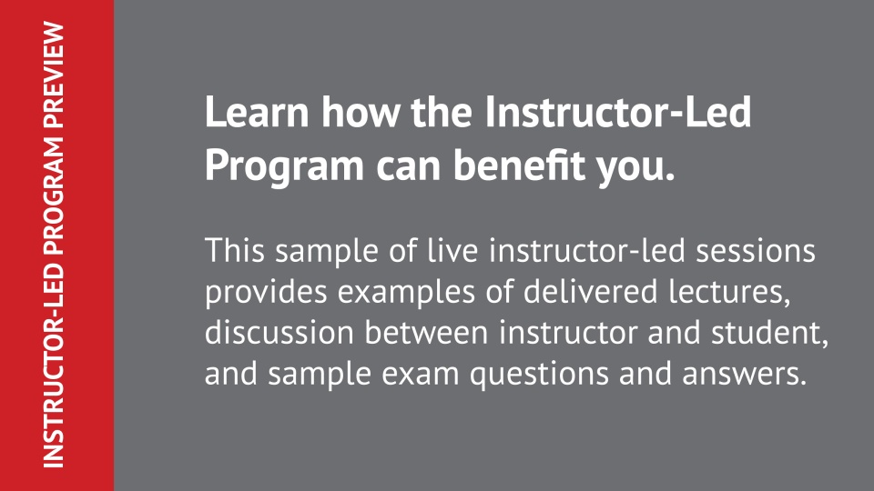 Cfp Program Instructor Led Online Cfp Program For Cfp Certification