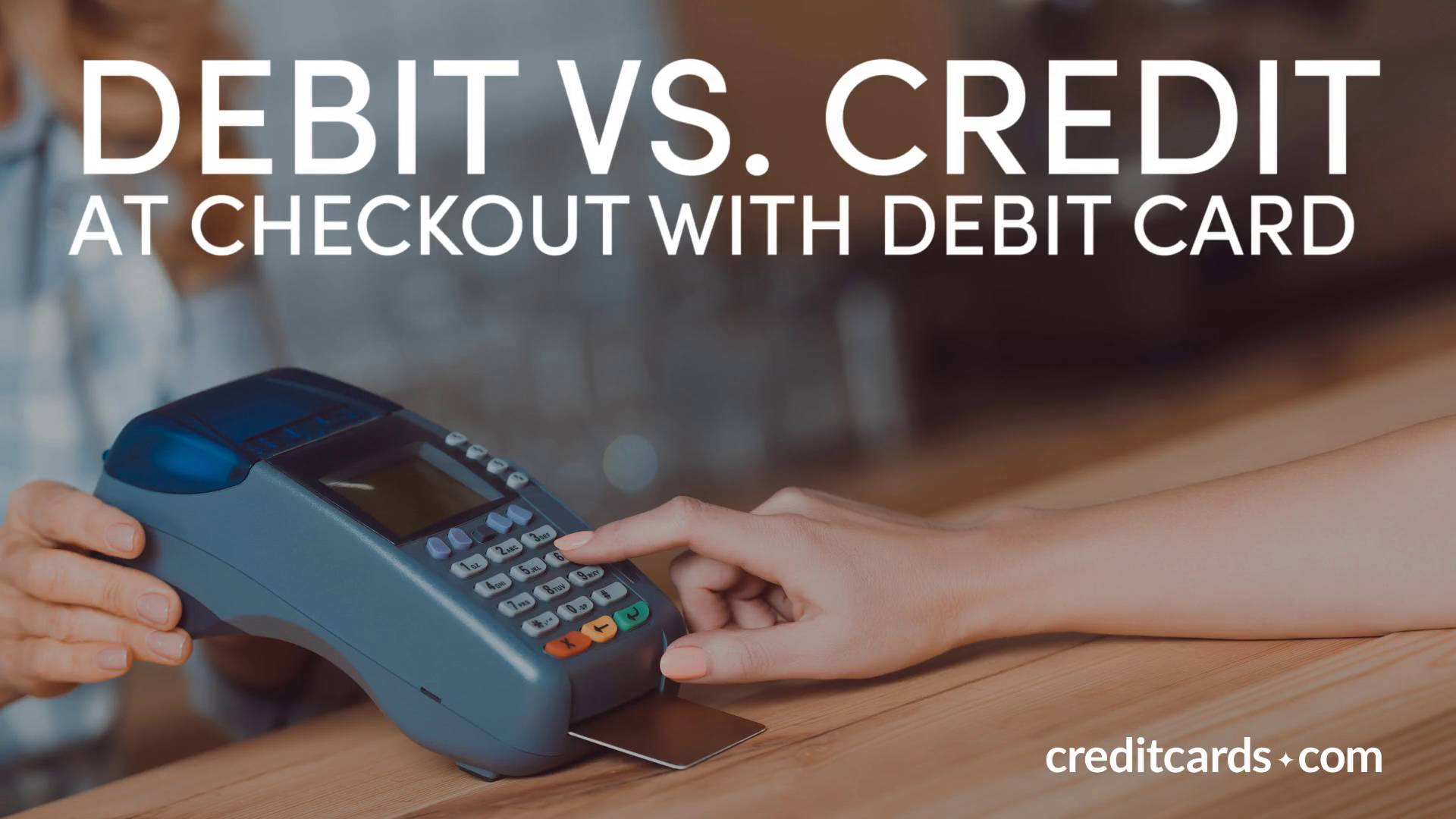 Debit vs credit learn the differences creditcards reheart Images
