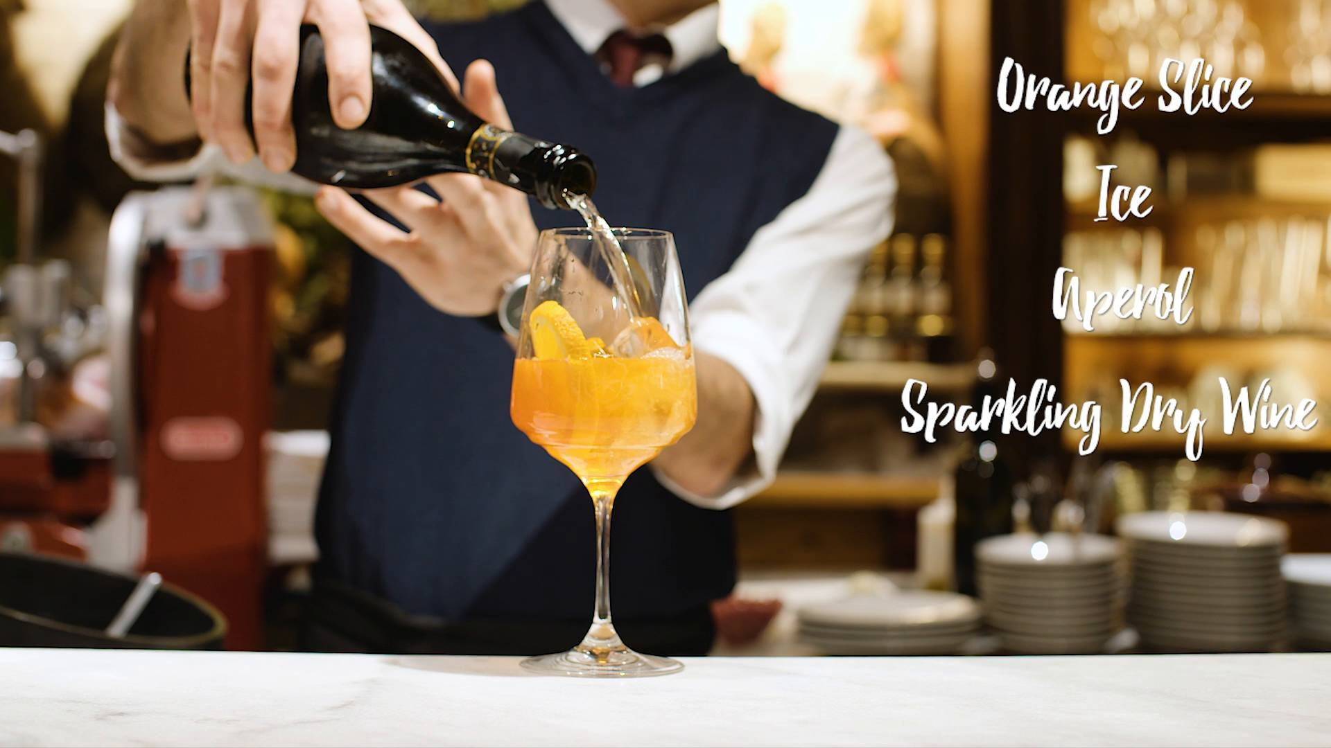 Wistia video thumbnail - Local Lessons - How to make an Aperol Spritz