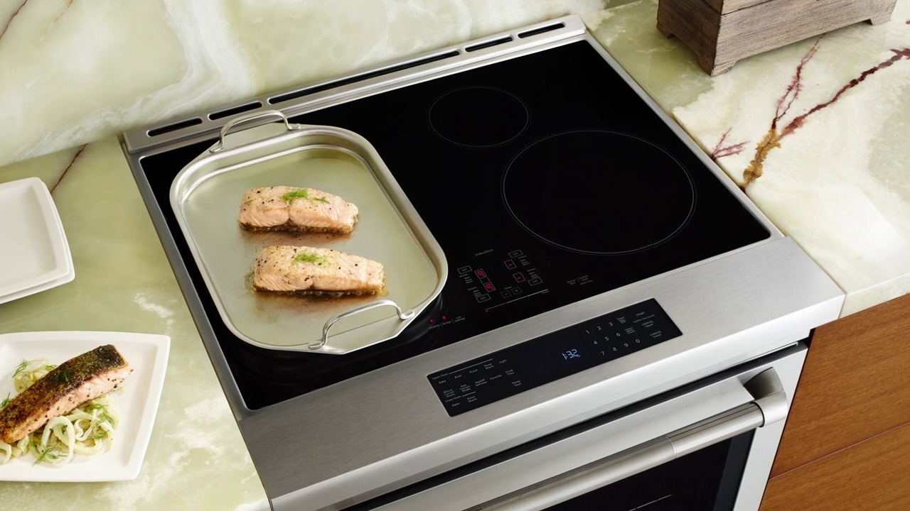 New Jenn Air Slide In Induction Range Video Thumbnail