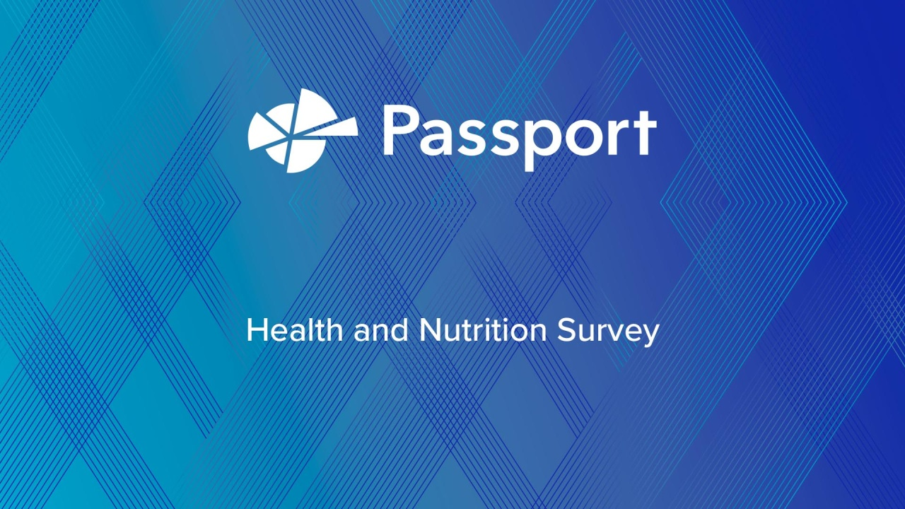 Health and Nutrition Survey