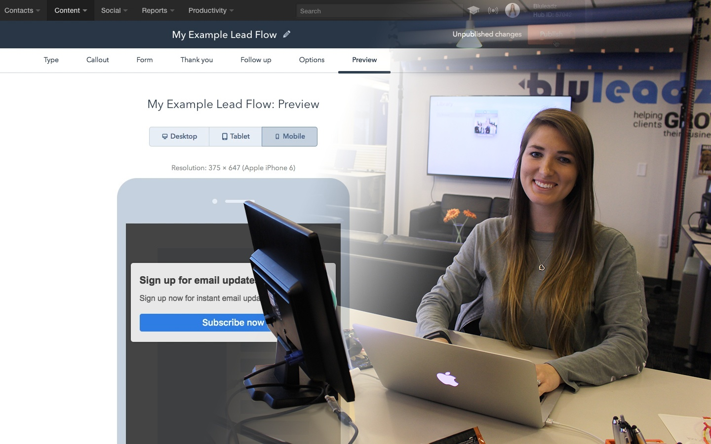 Wistia video thumbnail - How To: Create a Lead Flow in HubSpot