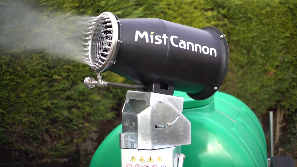 Wistia video thumbnail - MistCannon Rover - Product Launch