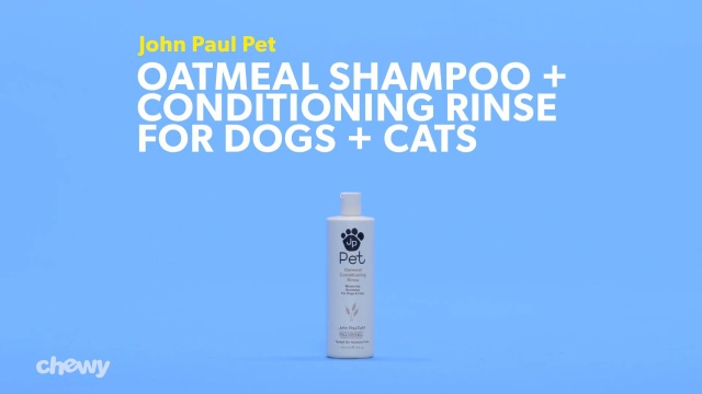 d330afcbe023 John Paul Pet Oatmeal Conditioning Rinse for Dogs & Cats, 16-oz bottle