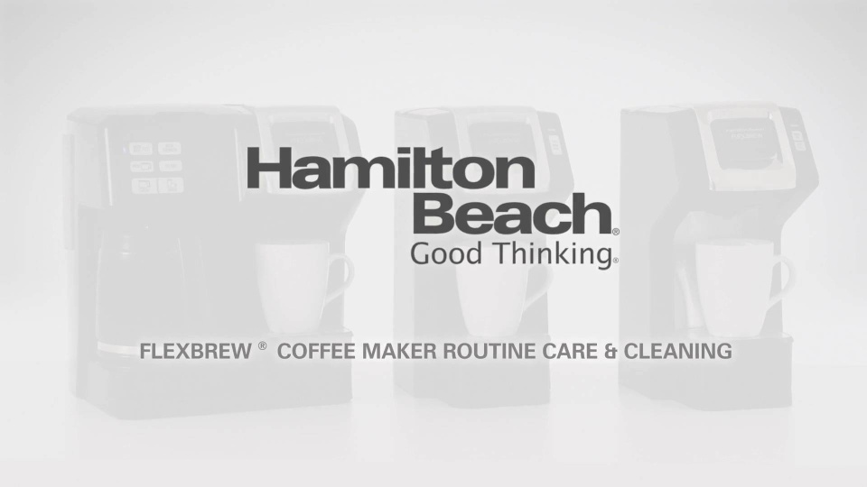 frequently asked questions hamiltonbeach com