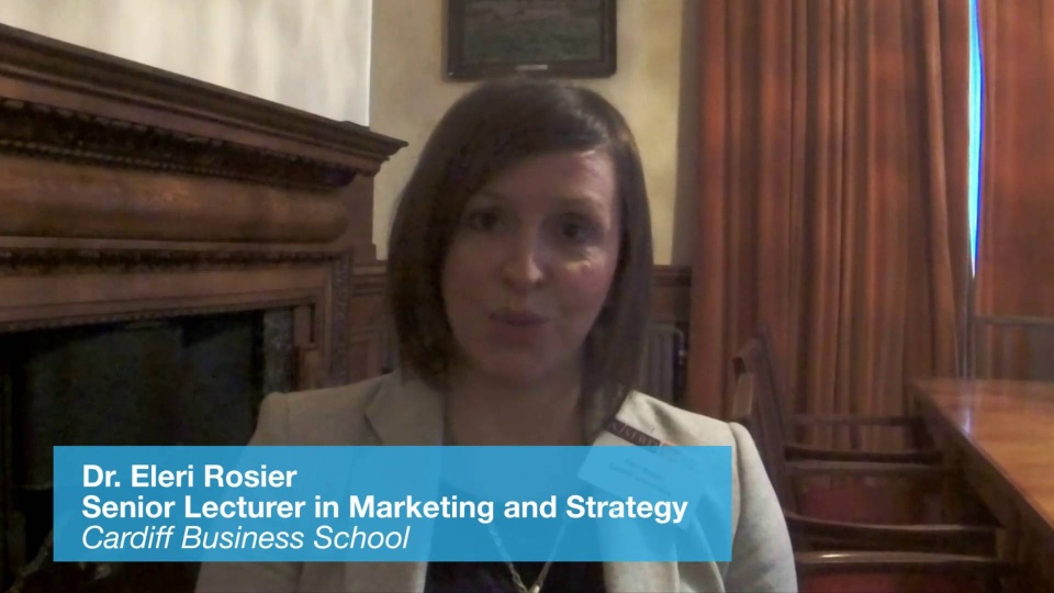 Wistia video thumbnail - Dr. Eleri Rosier, Cardiff Business School