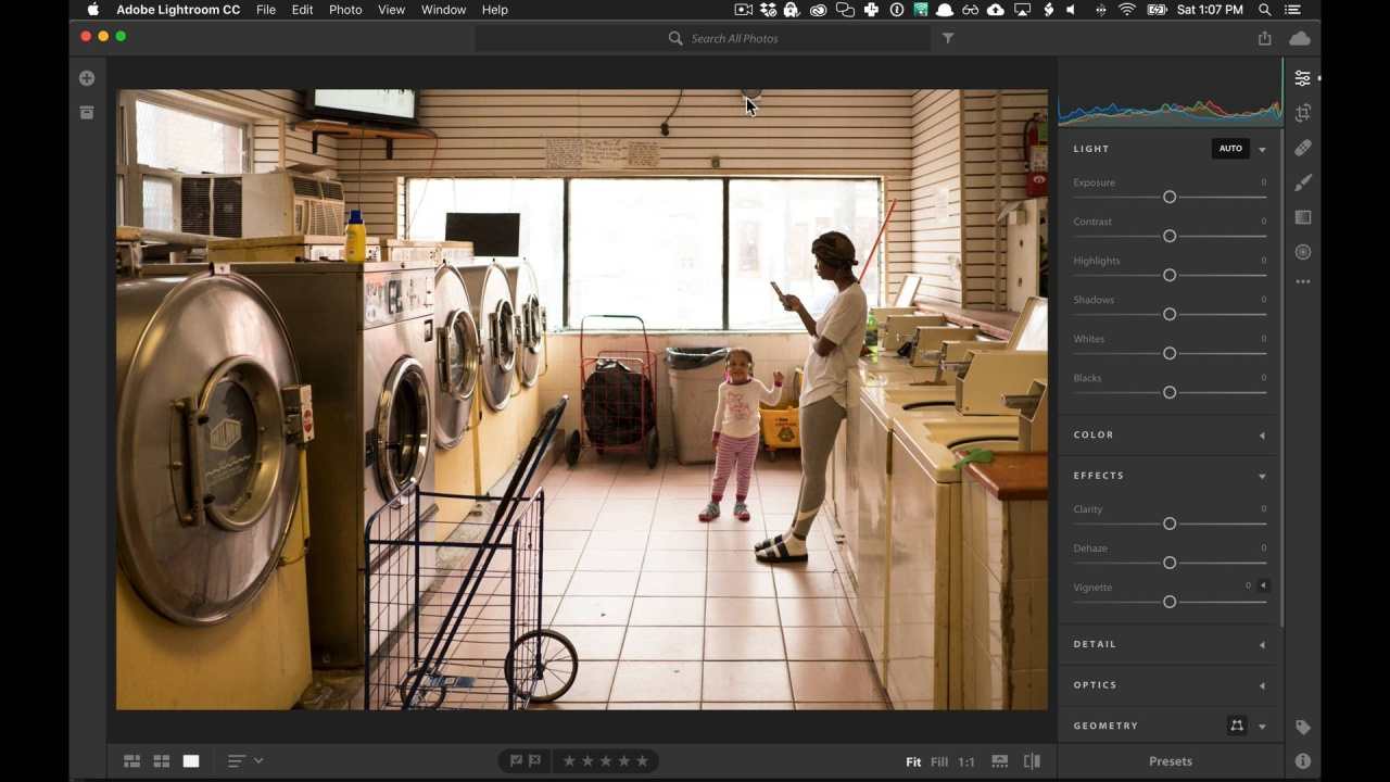 Using NATE presets in new Lightroom CC