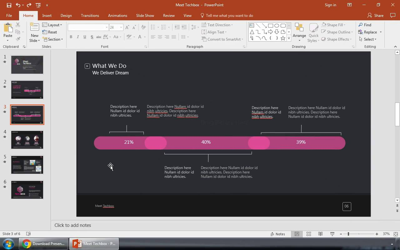 How to make powerpoint presentation with animation