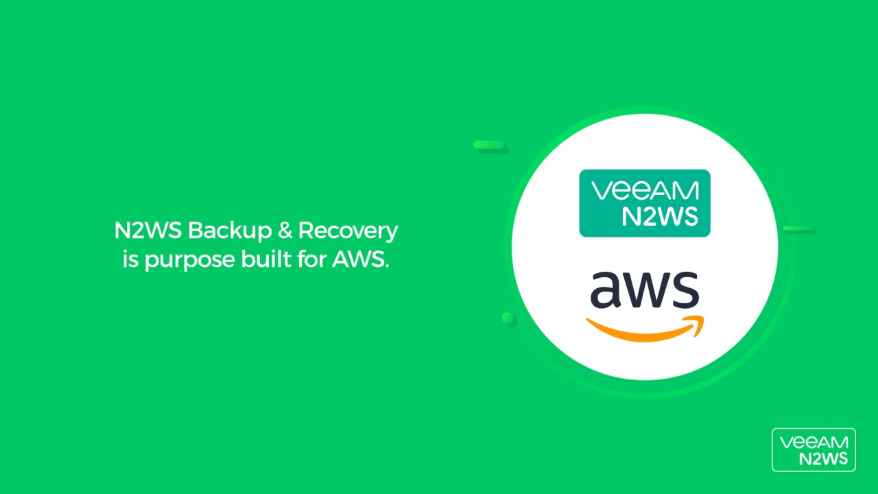 N2WS Cloud Data Backup & Recovery for AWS