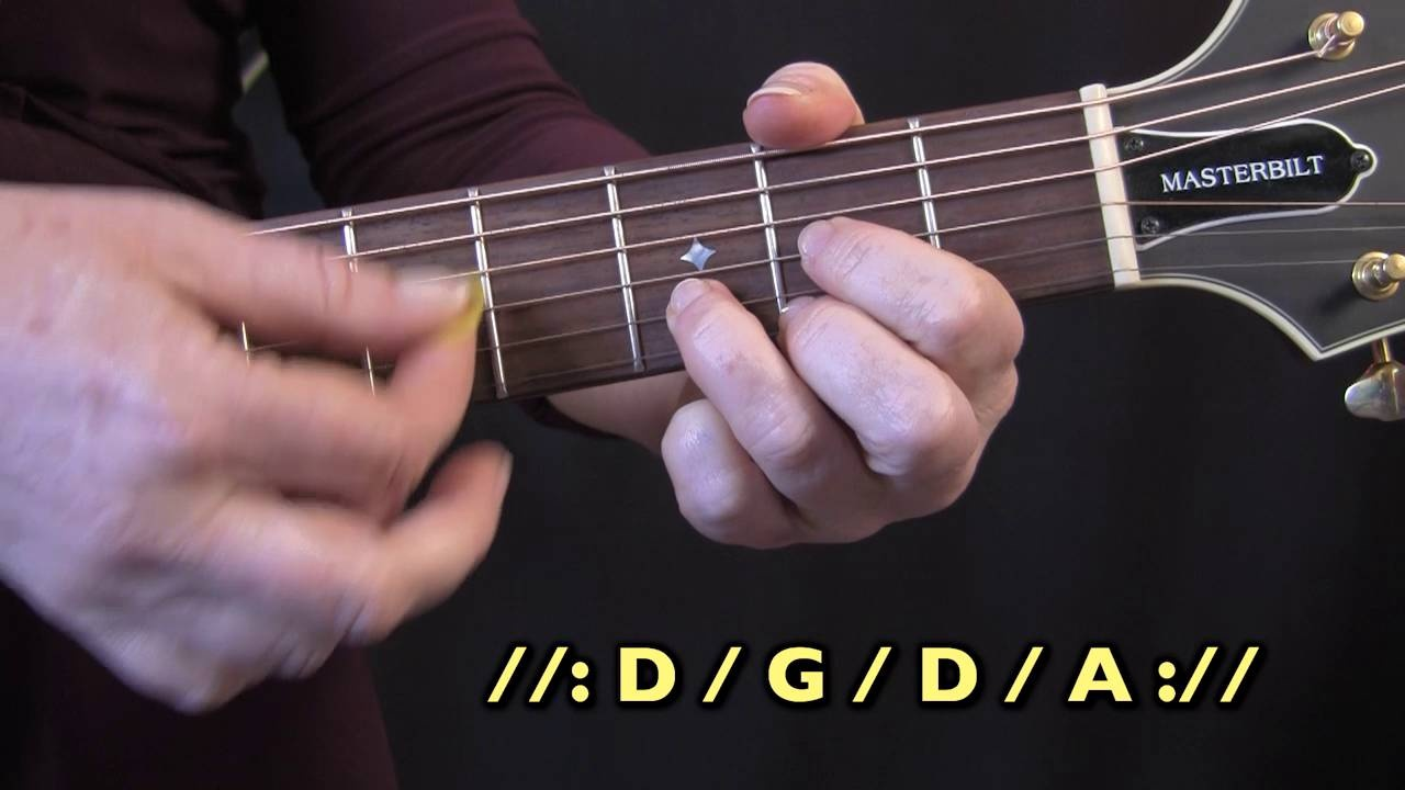 How To Play Guitar The Complete Thorough Guide Chalk Read Chord Diagrams Horizontal Lines Left Example Change Drill D G A
