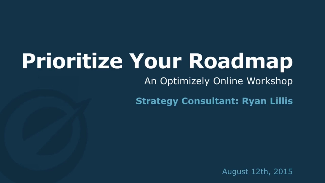 Create An Experimentation Roadmap Optimizely Knowledge Base - Testing roadmap template