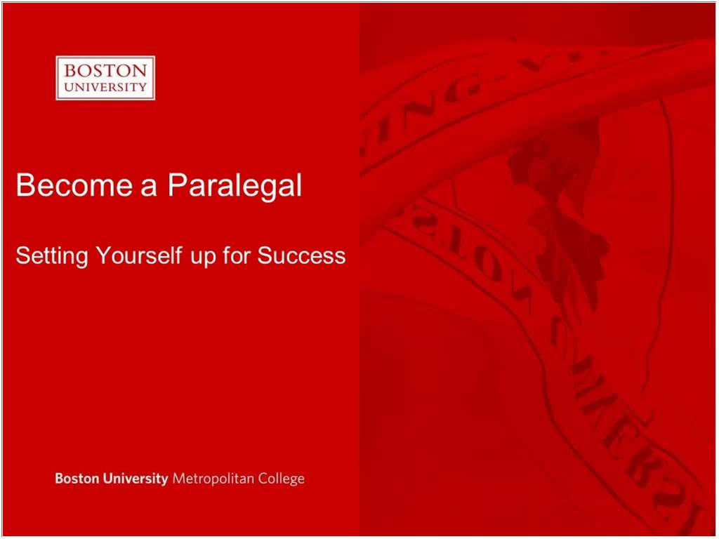 Webinar recording become a paralegal online paralegal webinar recording become a paralegal online paralegal certificate boston university 1betcityfo Image collections