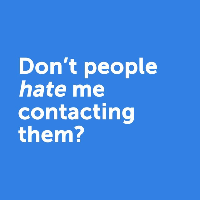 Wistia video thumbnail - UE E3 - Don't people hate me contacting them?