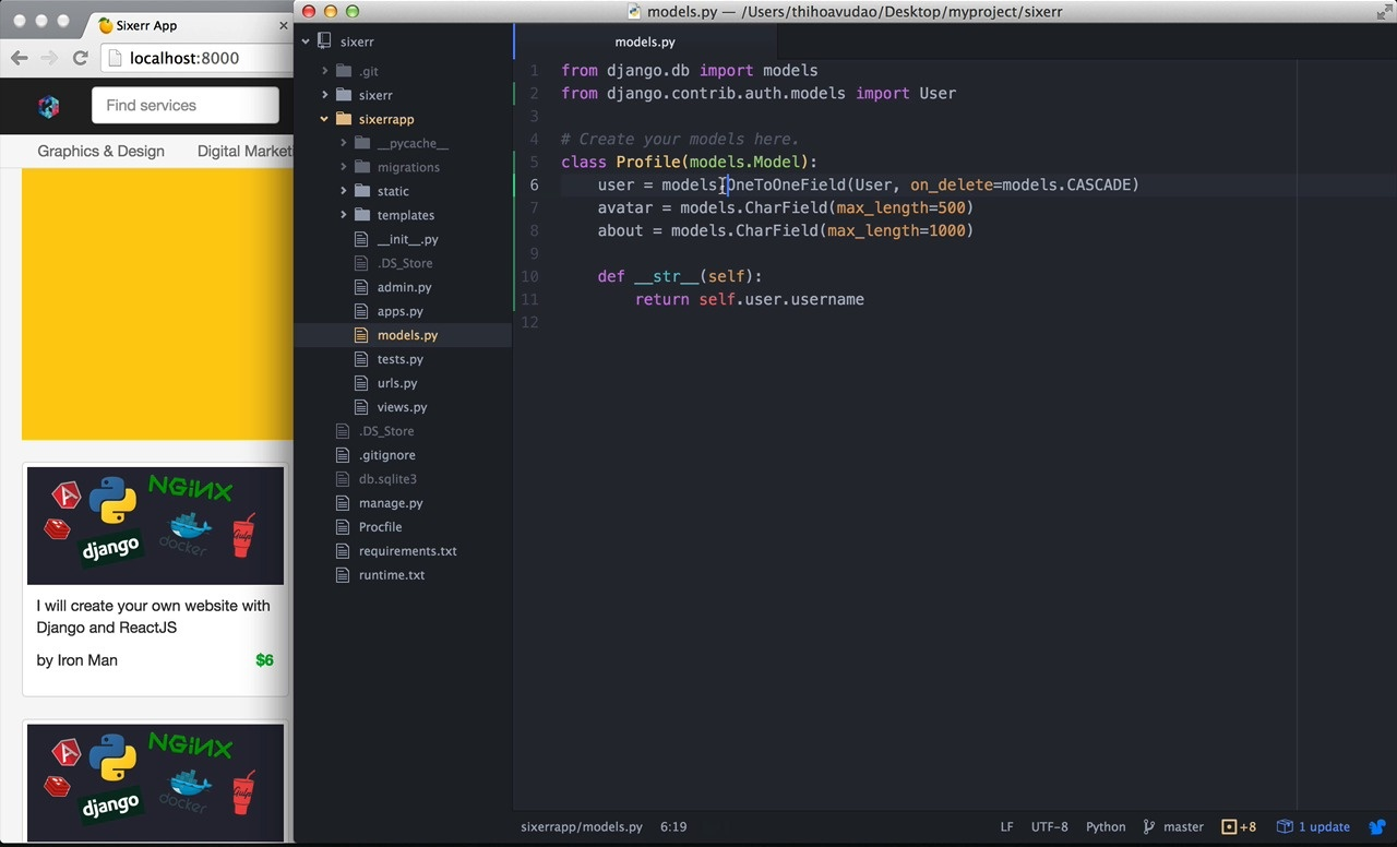 Build Fiverr marketplace with Python Django and Braintree | Code4Startup